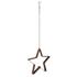 Bark & Blossom Hanging Star Candle Holder: Image 2