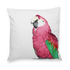 Bark & Blossom Pink Parrot Cushion: Image 1