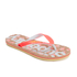 Superdry Women's Printed Cork Flip Flops - Fluro/Coral Palm Print: Image 2