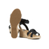 UGG Women's Maysie Wedged Sandals - Black: Image 6