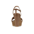 UGG Women's Fitchie T Bar Wedged Sandals - Rust: Image 3