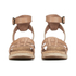UGG Women's Maysie Wedged Sandals - Tawny: Image 4