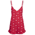 Wildfox Women's Ruffle Romper - Cupid Hearts: Image 1