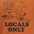 TSPTR Men's Locals Only T-Shirt - Orange: Image 3