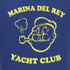 TSPTR Men's Yacht Club Short Sleeve Sweatshirt - Royal: Image 3