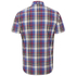 Penfield Men's Nolan Checked Short Sleeve Shirt - Blue: Image 2