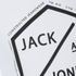 Jack & Jones Men's Core Hex T-Shirt - White: Image 3