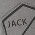 Jack & Jones Men's Core Hex T-Shirt - Grey Marl: Image 3