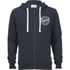 Jack & Jones Men's Originals Len Zip Through Hoody - Navy: Image 1