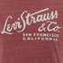 Levi's Men's Wordmark Graphic T-Shirt - Crimson: Image 3