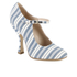 Vivienne Westwood Women's Mary Jane Heeled Shoes - Cream/Navy: Image 2
