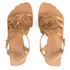 Vivienne Westwood Women's Animal Toe Flat Sandals - Tan: Image 2