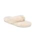 UGG Women's Fluff Flip Flop II Slippers - Natural: Image 5