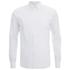 Folk Men's Long Sleeved Shirt - White: Image 1