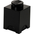 LEGO Storage Brick 1 - Black: Image 1