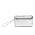 McQ Alexander McQueen Women's Addicted Cell Phone Bag - Silver: Image 1