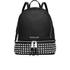 MICHAEL MICHAEL KORS Women's Rhea Studded Zip Backpack - Black: Image 1