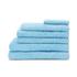 Highams 100% Cotton 7 Piece Towel Bale (550gsm) - Sky: Image 1