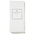Highams 100% Egyptian Cotton Plain Dyed Fitted Sheet - White: Image 1