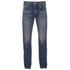 Edwin Men's Classic Regular Tapered Rainbow Selvage Jeans - Mid Dark Used: Image 1