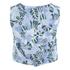 Maison Kitsuné Women's Ana Hibiscus Wrap Around Top - Emerald Sky: Image 3
