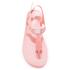 MICHAEL MICHAEL KORS Women's MK Plate Jelly Sandals - Pale Pink: Image 3