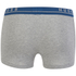 BOSS Hugo Boss Men's 3 Pack Boxer Shorts - Grey: Image 3