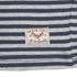 Brave Soul Men's Monacle Striped Raglan Long Sleeve Top - Navy: Image 4