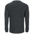 Brave Soul Men's Dalius Zip Pocket Long Sleeved Top - Black Marl: Image 2