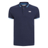 Crosshatch Men's Downtalk Tipped Polo Shirt - Iris Navy: Image 1