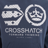 Crosshatch Men's Arowana Hoody - Insignia Blue: Image 3