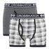 Crosshatch Men's Pixflix 2-Pack Boxers - Charcoal Marl: Image 1