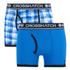 Crosshatch Men's Pixflix 2-Pack Boxers - Directoire Blue: Image 1