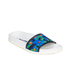 Jil Sander Navy Women's Graphic Flowers Slide Sandals - Blue/Green: Image 3