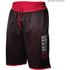 Better Bodies Men's Print Mesh Shorts - Black/Red: Image 1