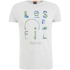 Scotch & Soda Men's Printed T-Shirt - Ecru Melange: Image 1