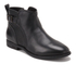 UGG Women's Demi Leather Flat Ankle Boots - Black: Image 5