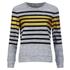 Munthe Women's Empire Navy Stripe Detail Sweatshirt - Navy: Image 1