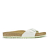 Birkenstock Women's Madrid Slim Fit Single Strap Sandals - Mint: Image 1