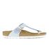 Birkenstock Women's Gizeh Shiny Snake Toe-Post Sandals - Sky: Image 1