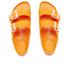 Birkenstock Women's Arizona Slim Fit Double Strap Sandals - Neon Orange: Image 3
