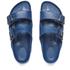 Birkenstock Women's Arizona Slim Fit Double Strap Sandals - Navy: Image 2