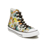 Converse Women's Chuck Taylor All Star Daisy Print Hi-Top Trainers - Black/Rebel Teal/White: Image 4