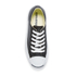 Converse Jack Purcell Unisex Leather Trainers - Black/White: Image 3