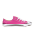 Converse Women's Chuck Taylor All Star Dainty Ox Trainers - Plastic Pink/Black/White: Image 1