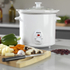 Elgento E16002 Slow Cooker - White - 3L: Image 5