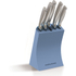 Morphy Richards 974812 5 Piece Knife Block - Cornflower Blue: Image 1