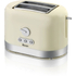 Swan ST10020CREN 2 Slice Toaster - Cream: Image 1