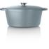 Tower IDT90001 Cast Iron Round Casserole Dish - Blue - 26cm: Image 4