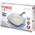Tower IDT90005 Cast Iron Square Grill Pan - Blue - 24cm: Image 4